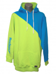 Roxburry Hoodie Lime Green/Blue
