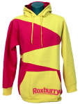 Roxburry Hoodie Yellow/Pink XL