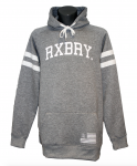 Roxburry Stripes Hoodie Heather Grey