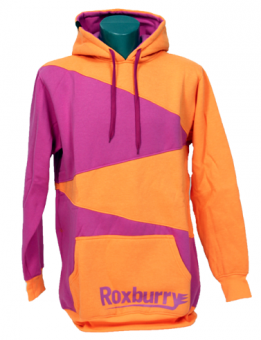 Roxburry Hoodie Orange/Purple