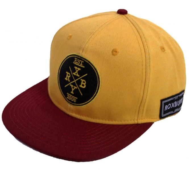 Roxburry Seabrook Snapback Yellow/Red