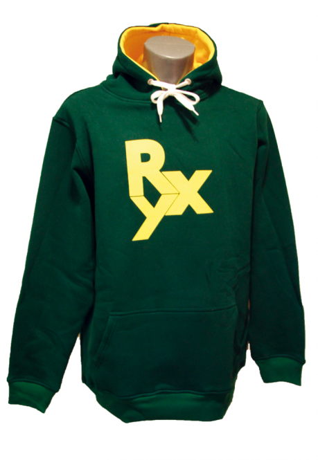 Roxburry Icon Hoodie Dark Green
